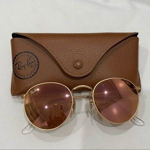 Ray-Ban Round Copper Flash Lenses